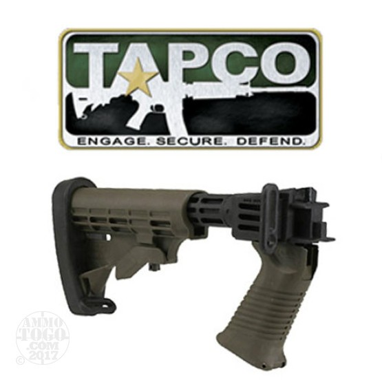 1 - TAPCO Saiga T6 Collapsible Stock Dark Earth