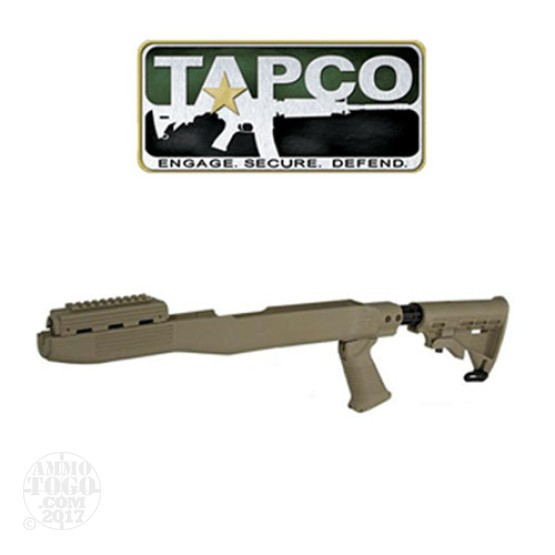 1 - TAPCO SKS T6 Collapsible Stock System Dark Earth