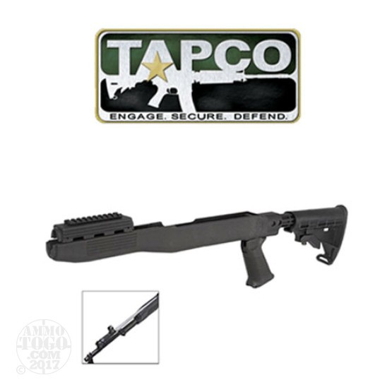 1 - TAPCO SKS T6 Collapsible Stock System Black with Bayonet Blade Cut