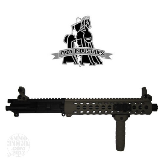 "1 - Troy 5.56mm 10"" CQB Flat Top Upper Receiver Flat Dark Earth"