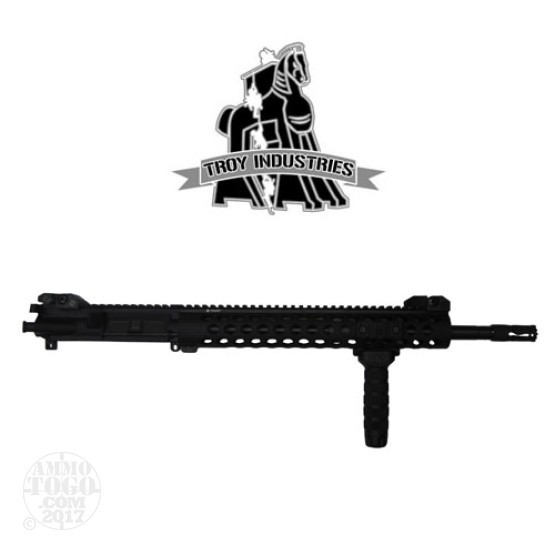 "1 - Troy 5.56mm 16"" CQB-SPC Upper Receiver Assembly Black"