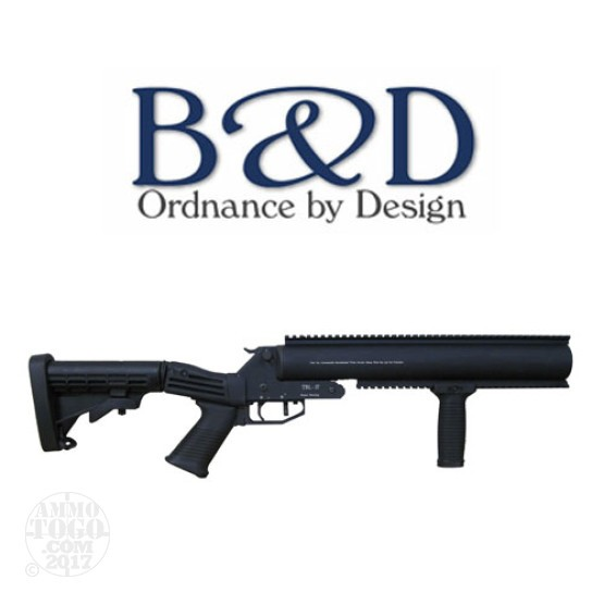 "1 - B&D TBL-37 37mm Launcher 12"" Barrel Tele-Stock w/vert foregrip"