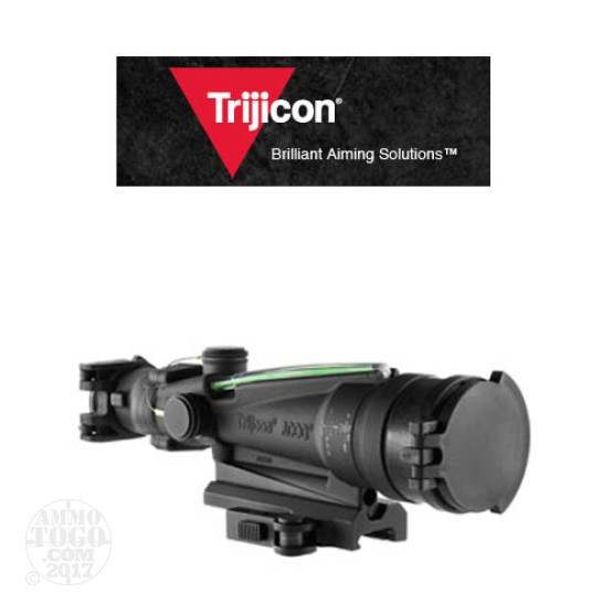 1 - Trijicon ACOG TA11MGO-M249 3.5x35 Scope, Dual Illuminated Green Horseshoe/Dot