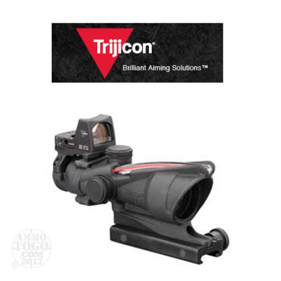 1 - Trijicon ACOG TA31F-RMR 4x32 Scope, Dual Illuminated Red Chevron