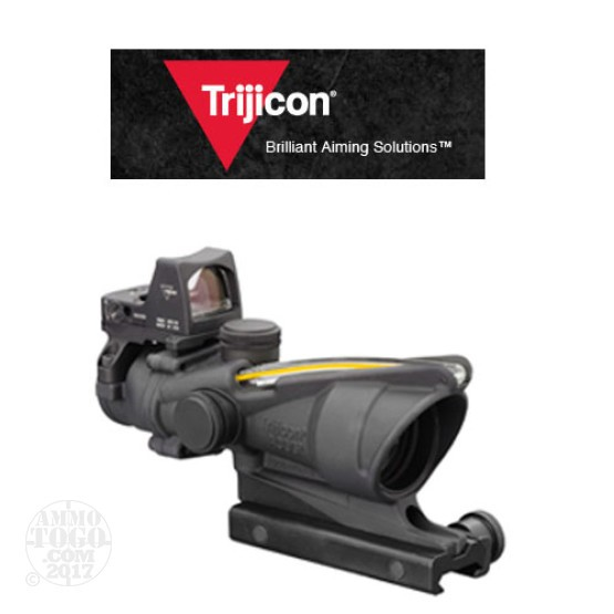1 - Trijicon ACOG TA31RMR-A 4x32 Scope, Dual Illuminated Amber Crosshair