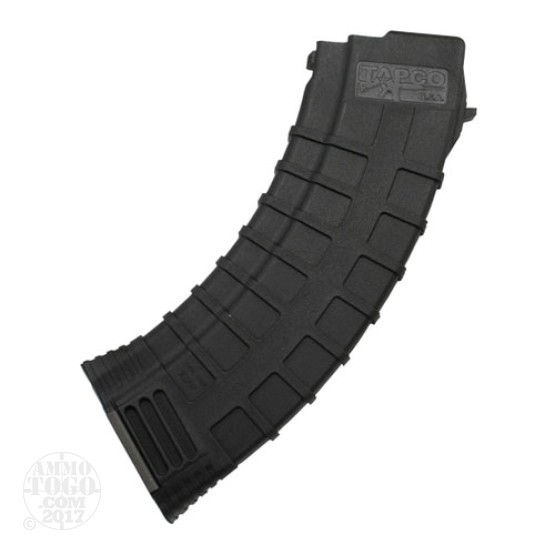 1 - AK-47 TAPCO 30rd. Pinned to 10rd. Black Polymer Magazine