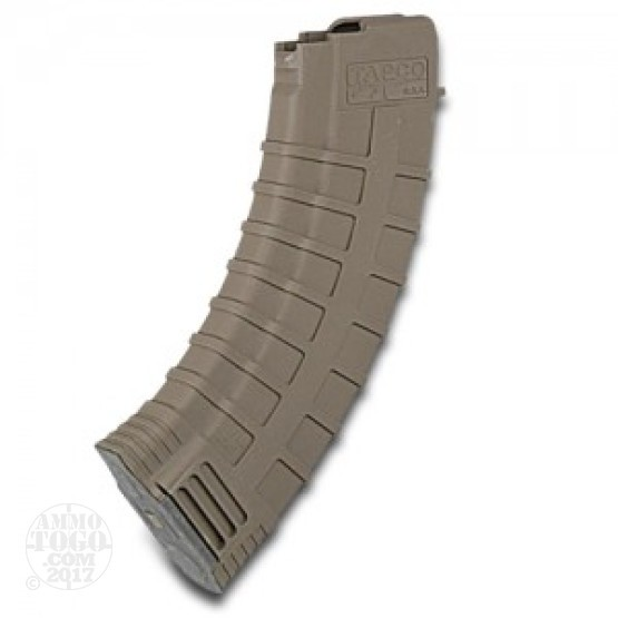 10 - AK-47 TAPCO 30rd. Dark Earth Polymer Magazine