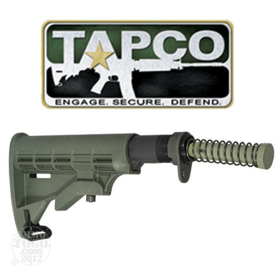 1 - TAPCO AR-15 / M4 / M16 Complete T6 Collapsible Stock Foliage