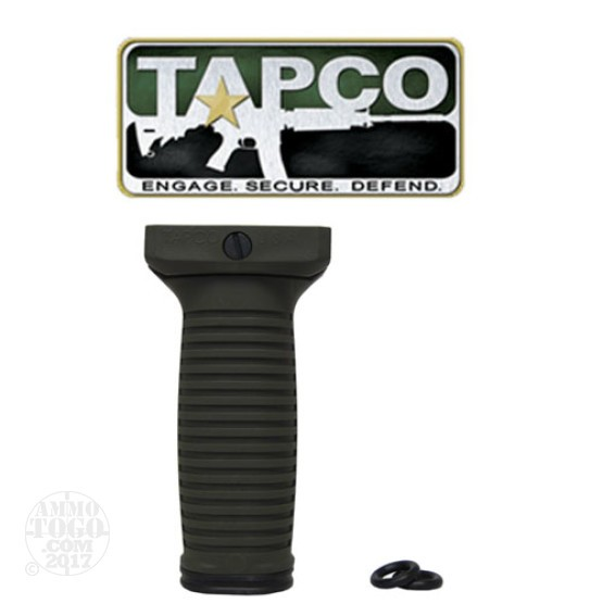 1 - TAPCO Intrafuse Vertical Grip Olive Drab for 1913 Rails
