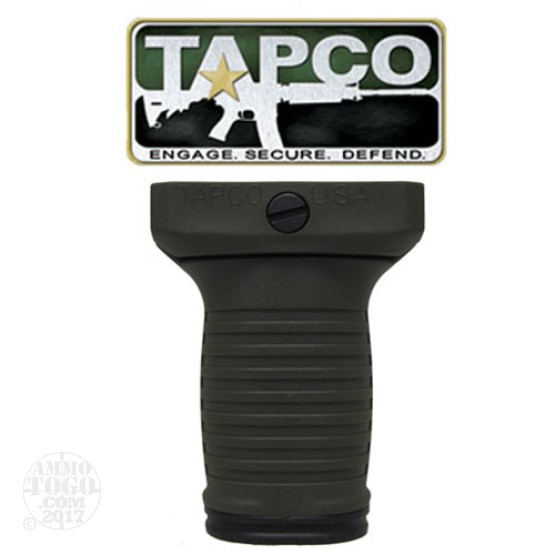 1 - TAPCO Intrafuse Vertical Grip Short Olive Drab
