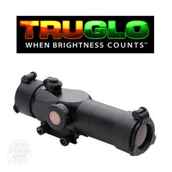 1 - TruGlo Triton 30mm Red-Dot Optic Sight for Tactical Firearms