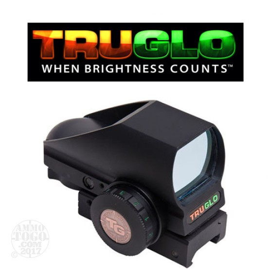 1 - TruGlo Tru Brite Open Red Dot Multi-Reticle/Dual Color Sight