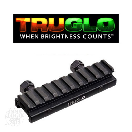 "1 - TruGlo Picatinny Style 1/2"" Riser Mount"