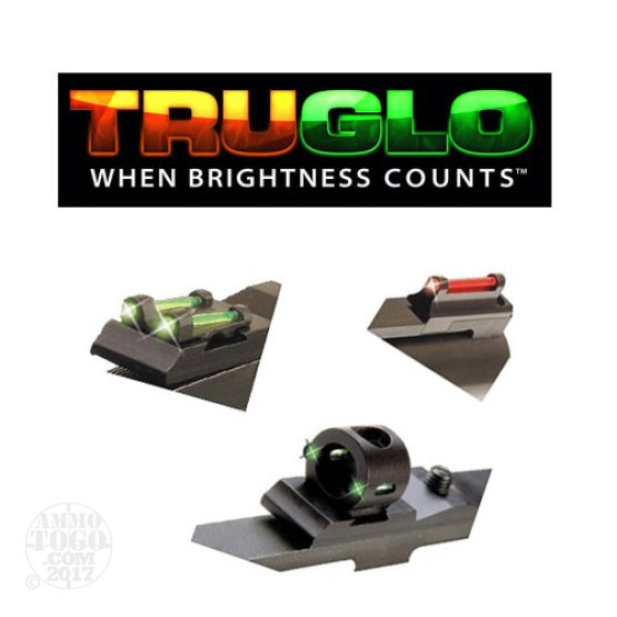1 - TruGlo Universal Tru Bead Turkey Fiber Optic Shotgun Sight