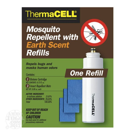 1 - ThermaCELL Mosquito Repellent With Earth Scent One Refill