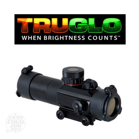 1 - TruGlo Tactical Dual Color Red-Dot Optic Sight