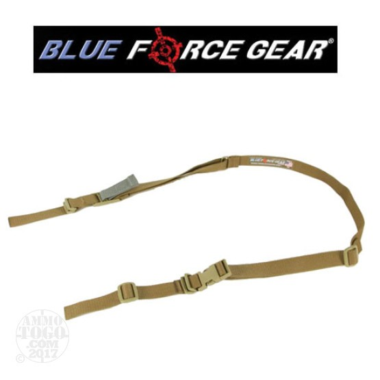 1 - Blue Force Gear NSN VCAS Military Sling A-TACS Camo