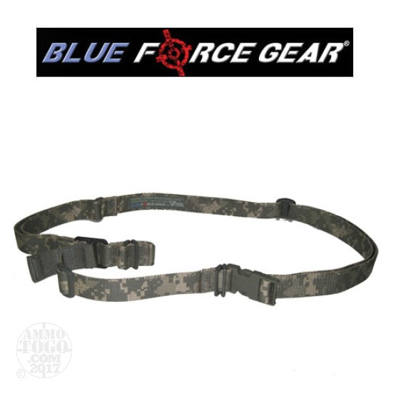 1 - Blue Force Gear Vickers Combat Applications 2 Point Sling Universal Camo Metal