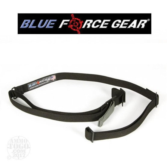 1 - Blue Force Gear Vickers Combat Applications 2 Point Qwick Adjust Sling Black Acetyl