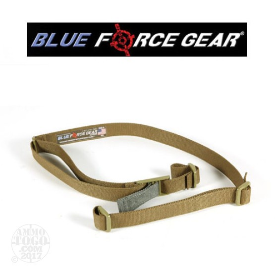 1 - Blue Force Gear Vickers Combat Applications 2 Point Qwick Adjust Sling Coyote Brown Acetyl