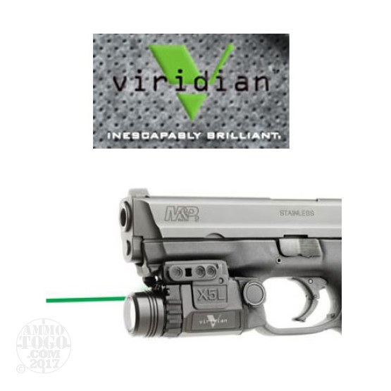 1 - Viridian X5L Green Laser Sight (Gen 2) w/Tactical Light Universal Mount