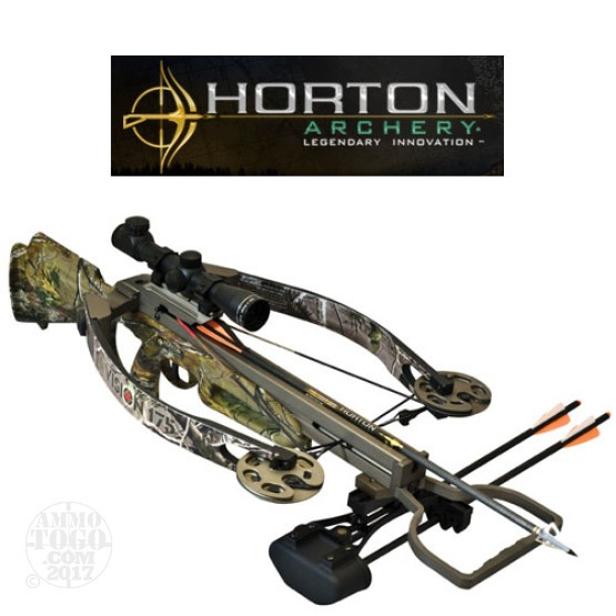1 - Horton Archery Vision 175 Crossbow with Scope