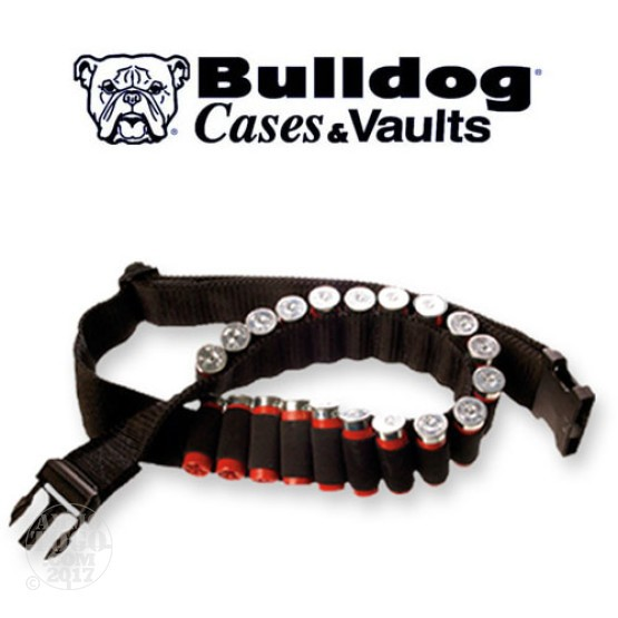1 - Bulldog Extreme Shotshell Ammo Belt Black