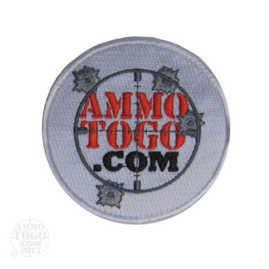 1 - White Ammo To Go Patch with Logo
