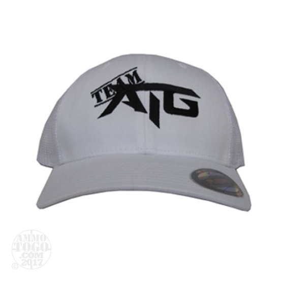 1 - White Ammo To Go Team ATG Flexfit Fitted Cap