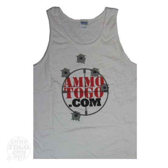 1 - White Ammo To Go Tank Top (Large)