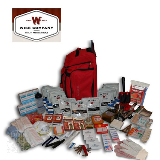 1 - Wise Products Deluxe Survival Kit 2 Week