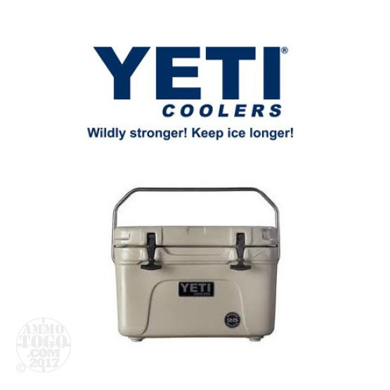 1- Yeti Roadie 25 Quart Tan Cooler