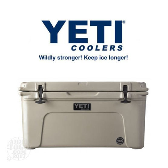 1- Yeti Tundra 75 Quart Tan Cooler