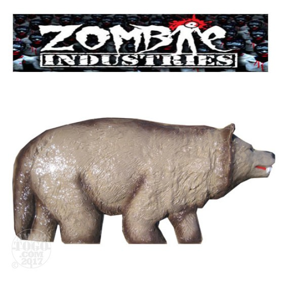1 - Zombie Industries Wolf Bleeding Target - (Tan Color)
