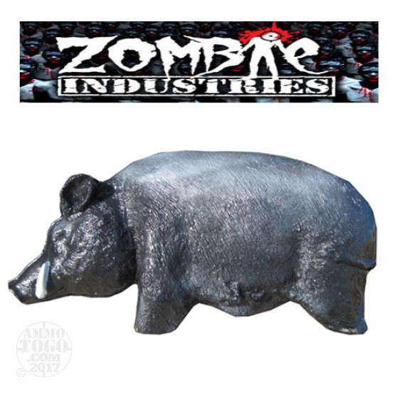 1 - Zombie Industries Sightline Feral Hog Target - (Black Color)