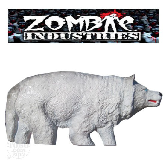 1 - Zombie Industries Sightline White Wolf Target - (White Color)