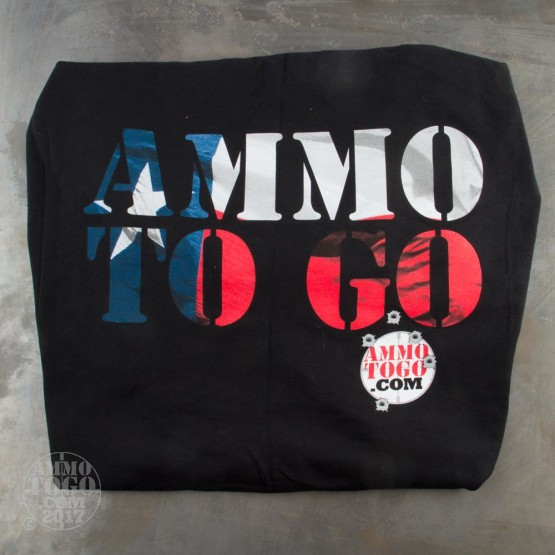 1 - Black T-Sleeve Shirt (3X-Large) With Texas Flag In Ammo To Go Logo