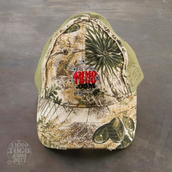 1 - GameGuard Distressed Cap  GG Camo With Ammo To Go Logo