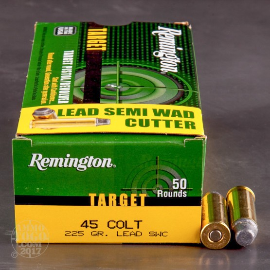 500rds – 45 Long Colt Remington Target 225gr. LSWC Ammo