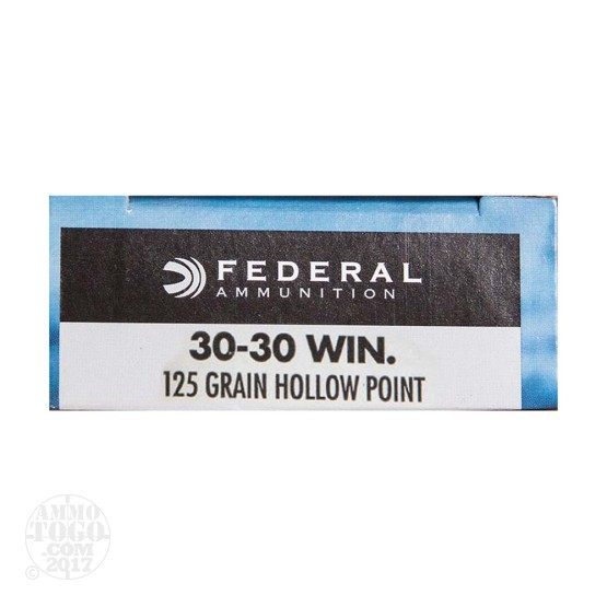 200rds – 30-30 Federal Power-Shok 125gr. Soft HP Ammo