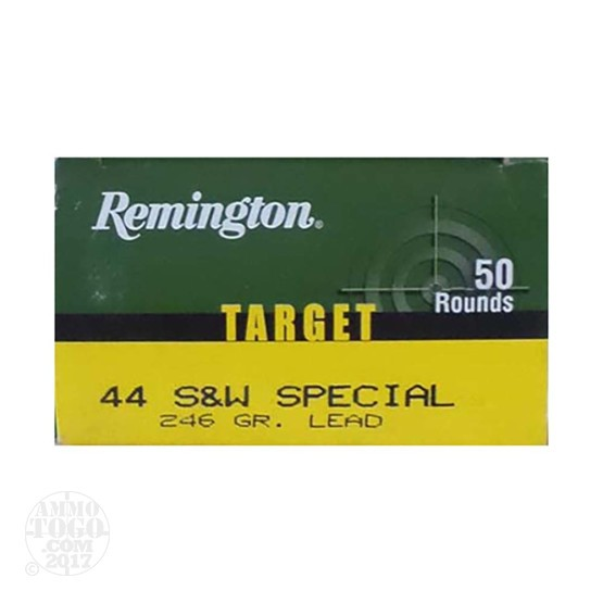 50rds - 44 Special Remington 246gr. LRN Ammo