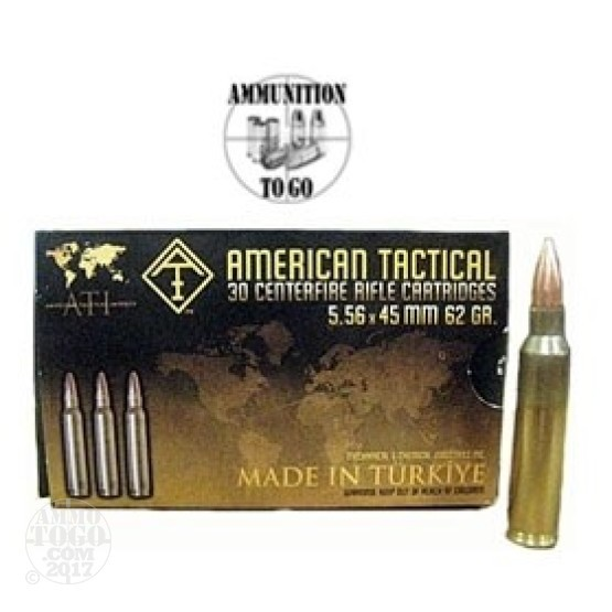 480rds - 5.56 American Tactical Imports SS-109 62gr. Penetrator w/ FREE SHIPPING