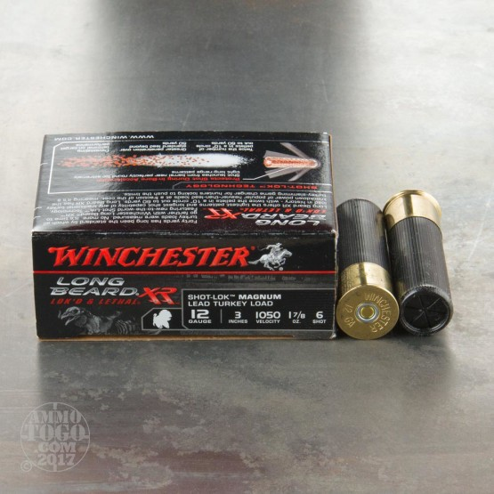 "10rds - 12 Gauge Winchester Long Beard XR 1 7/8 Ounce 3"" #6 Shot Ammo"