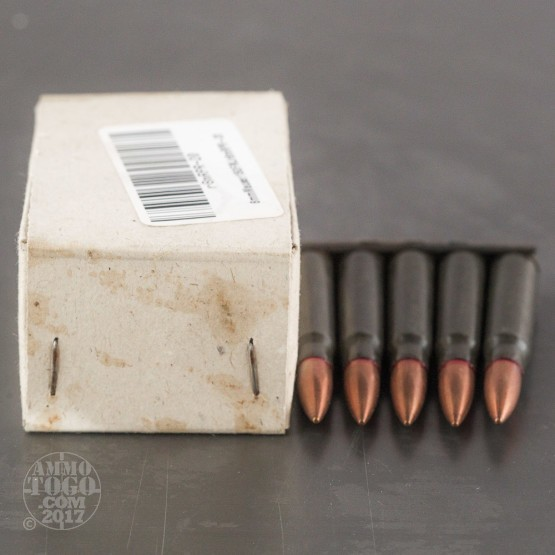340rds – 8mm Mauser Romanian Surplus 150gr. FMJ Ammo