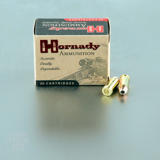 20rds - 40 S&W Hornady 155gr. XTP Jacketed Hollow Point Ammo