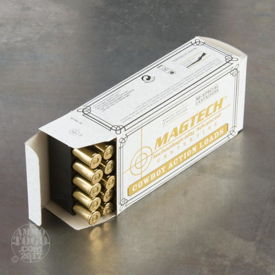 50rds - 38 Special Magtech 158gr. Lead Flat Nose Ammo