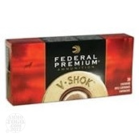 20rds - 7mm WSM Federal Vital-Shok 160gr Nosler Partition Ammo