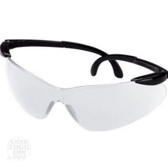 1 Pair - Champion Clear Open Frame Ballistic Shooting Glasses