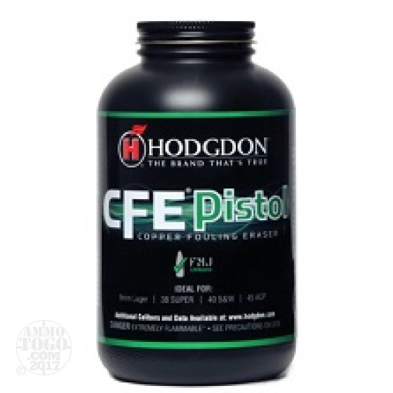 1 lb. - Hodgdon CFE Handgun Powder