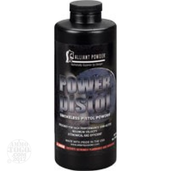 1 lb. - Alliant Power Pistol Handgun Powder